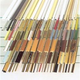 Profil din plastic de colt - Alb