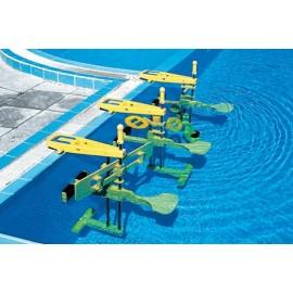 Fitness de apa - set complet cu 3 dispozitive