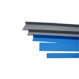 Placa de metal acoperita cu PVC profil L 2x5x200cm