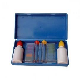 Tester cu reactivi lichizi pentru clor si pH