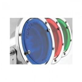 Filtru de culori pentru lumini tip FL50-50 - albastru
