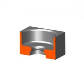 Banca Standard - unghi rotunjit 180°