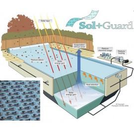 Prelata de vara cu incalzire solara Sol+Guard