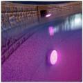 Proiector LED RGB pentru conectare la supapa de retur