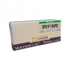 Reactivi clor liber DPD1 rapid, 50 tablete