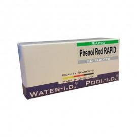 Reactivi Phenol Red rapid, 50 tablete pH