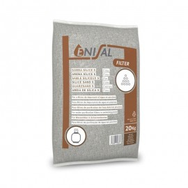 Nisip pentru filtrare 2 - 4 mm - 20kg