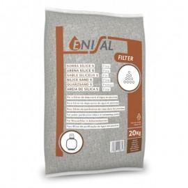 Sticla granulatie  06 - 1.2 mm pentru filtrare - 20kg