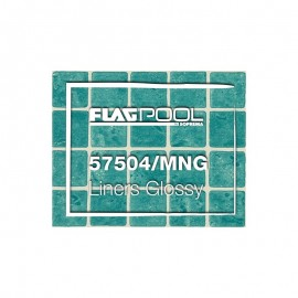 Liner PVC 1.5mm Green Mosaic