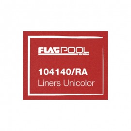 Liner PVC 1.5mm Rosso