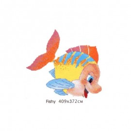 Mural mozaic Fishy 409x372cm fundal mix102