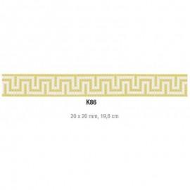 Friza mozaic sticla K86 suport hartie 20x20 cm