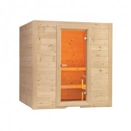 Cabina sauna uscata Basic 195x156cm