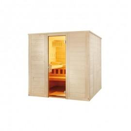 Cabina sauna uscata Wellfun 204x204cm
