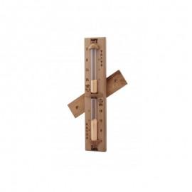 Clepsidra din lemn de cedru rosu