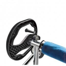 Suport cu o parte mobila pentru tub derulator D80mm