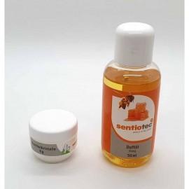 Set Wellness 2 bucati, esenta miere si cristale mentolate
