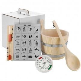 Set accesorii sauna 6 piese